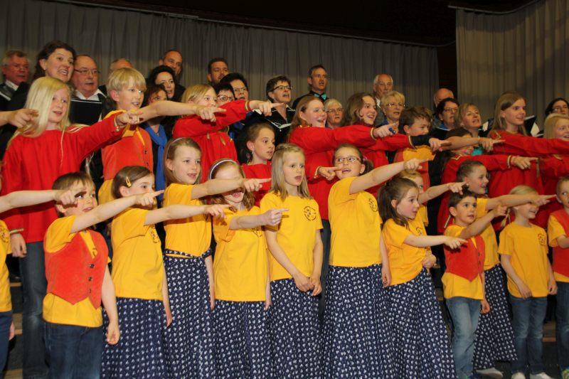 Bunter Abend 40 Jahre Kinder-und Jugendchor 22