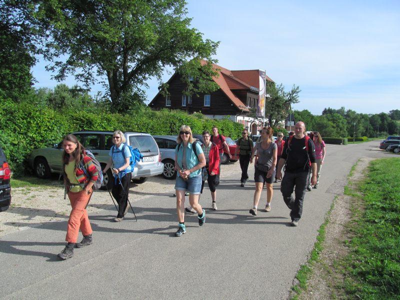 Juni 2015 Wanderung Zipfelbachschlucht 1
