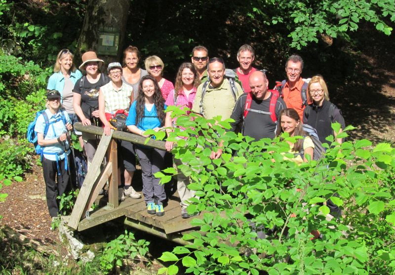 Juni 2015 Wanderung Zipfelbachschlucht 6
